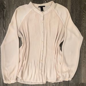 Cream blouse size L